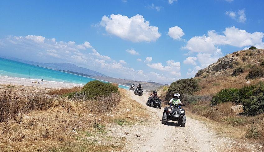 Quad Verleih Agrigent - Exkursion Agrigent