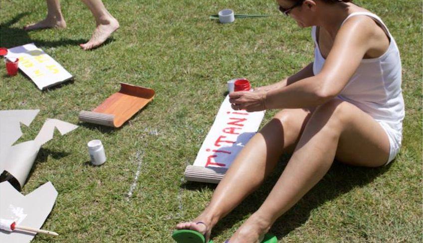 Lusitige Team Builidng Aktivitäten -