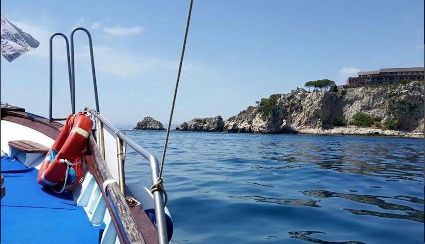 Boot Exkursion Taormina -