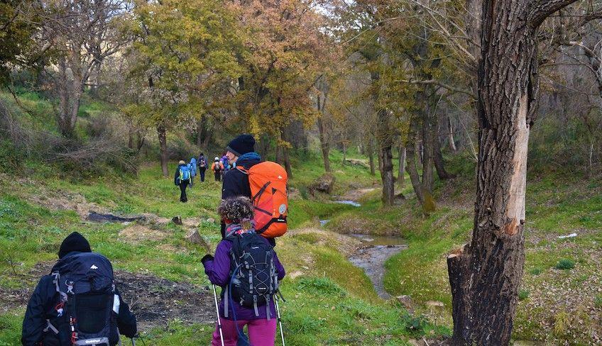 Trekking in Sizilien -