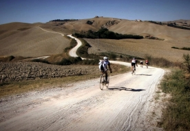 eine Woche mit dem Fahrrad - Routen durch Sizilien
