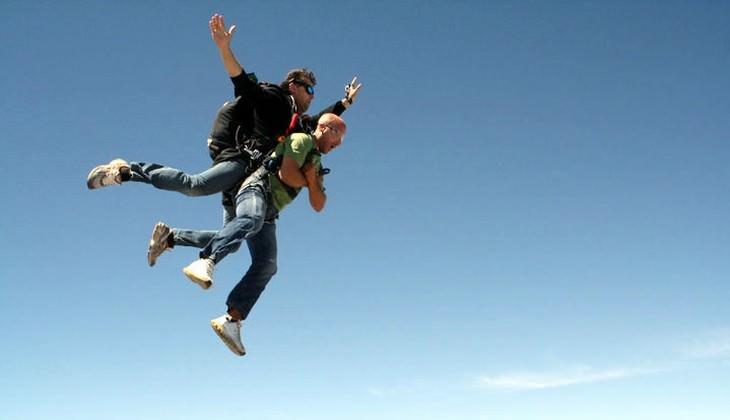 Tandemsprung in Sizilien - Sportaktivitäten in Sizilien