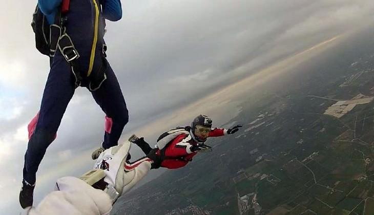 Fallschirmspringen Sizilien - Sportaktivitäten Sizilien