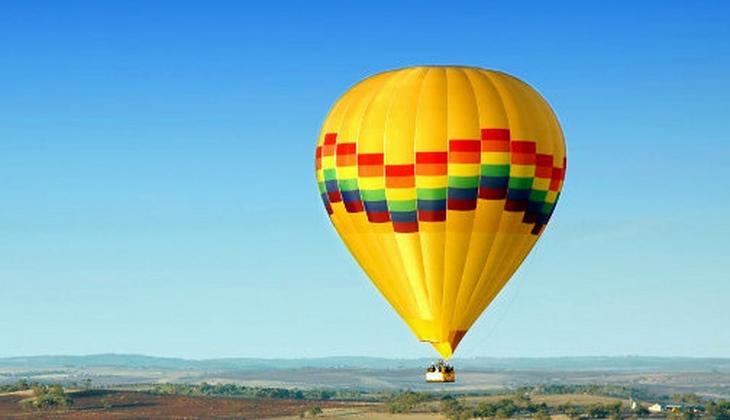 Verleih Heißluftballon Heißluftballonfahrt Urlaub in Sizilien Panorama