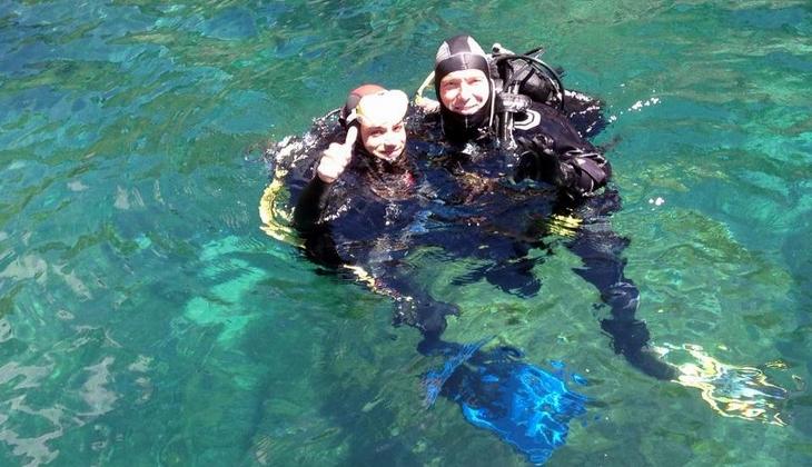 Unterwasserwelt Siziliens Diving Sizilien Sportangebote Sizilien Taormina