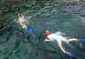 Schnorcheln Sizilien das Meer Siziliens Tauchgänge unter Wasser Taormina