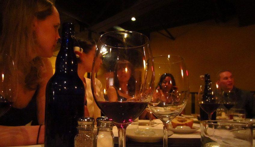 Weinverkostung in Italien - Nero d'avola Sizilien