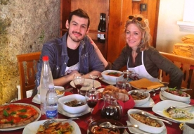 Weinkeller in Messina - Sizilien Rotwein