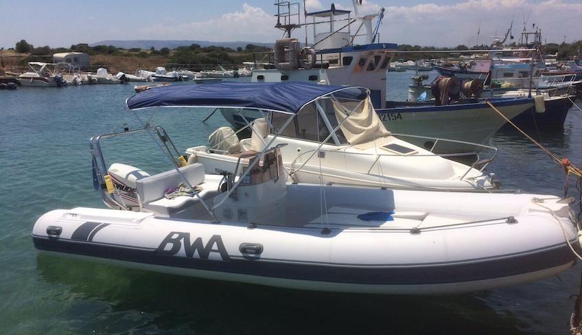Bootsverleih - Tour im Schlauchboot