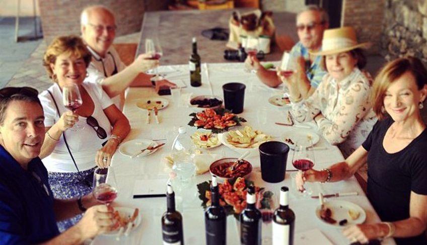 Typisches sizilianisches Haus - Sizilien Weinreise