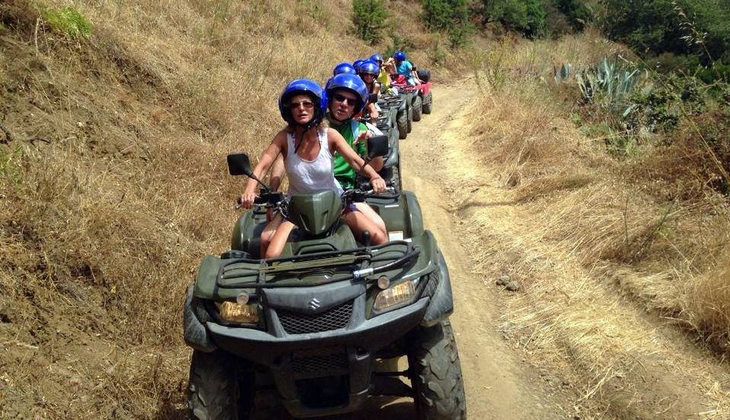 Sizilien mit dem Quad Exkursion mit dem Quad Sport Siziliens cefalu