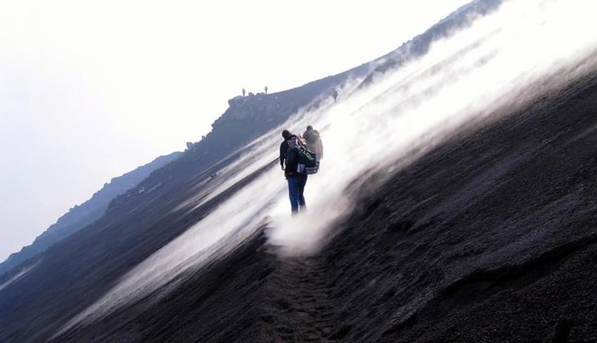 Trekking Ätna Vulkan Ätna Sizilien Urlaub in der Natur Ätna