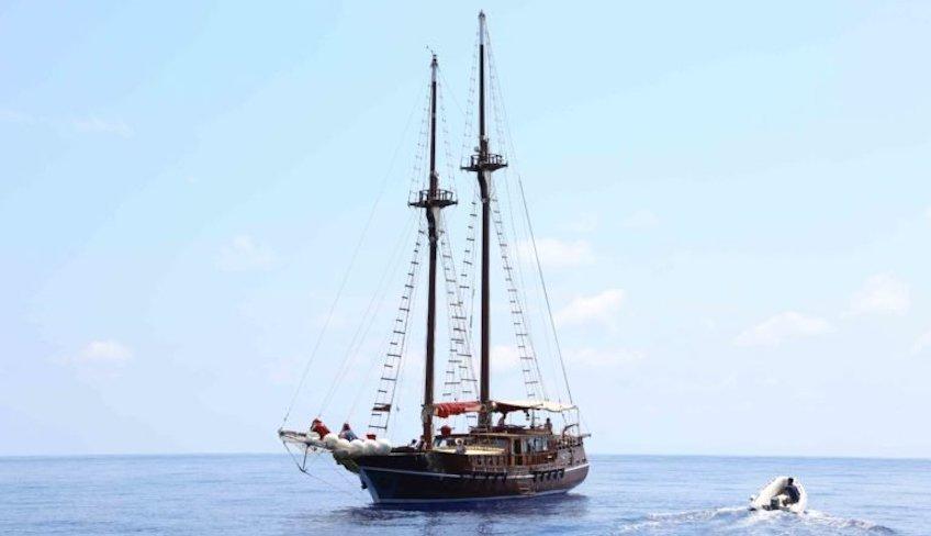 Urlaub auf dem Schiff Sizilien besuchen einen Vulkan entdecken Äolische Inseln