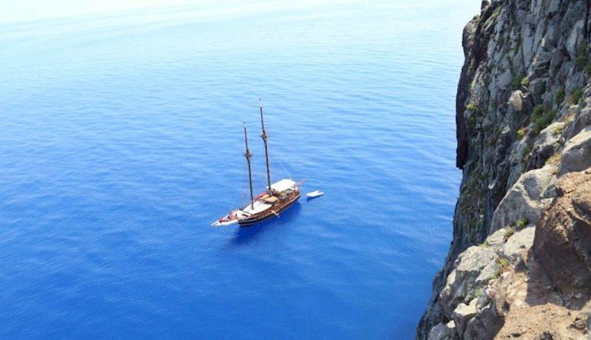 Schifffahrt 1-wöchige Fahrt Vulkane in Sizilien Äolische Inseln