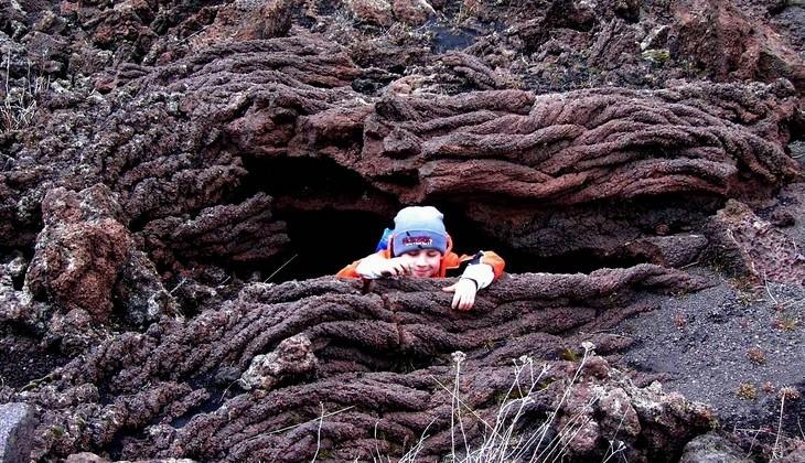Aufstieg zum Vulkan Siziliens - Natur Siziliens
