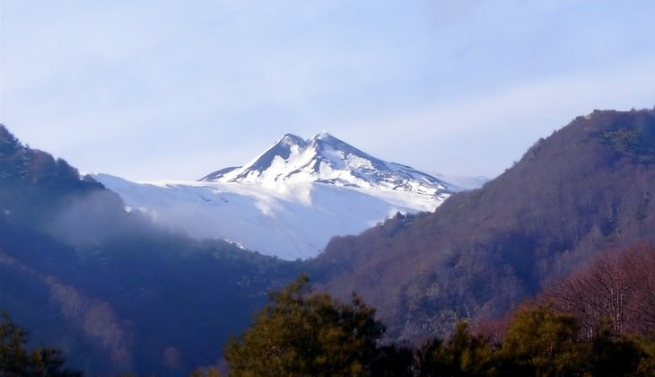Trekking auf dem Vulkan - Vulkan Siziliens