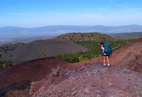 Trekking-Tour auf dem Ätna - Trekking im Gebirge