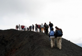 Vulkan besteigen Trekkingtour Sizilien Natur Ätna