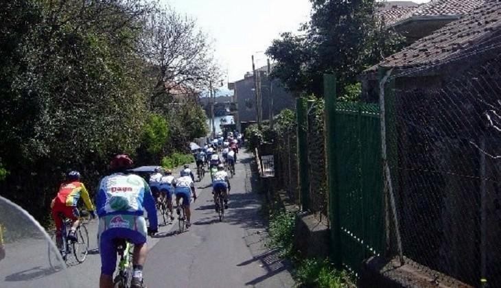 Tour Fahrrad - Landschaft des Vulkans