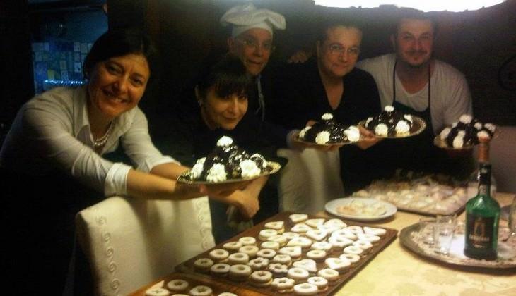 Mittagessen sizilianische Familie  - Kultur Siziliens