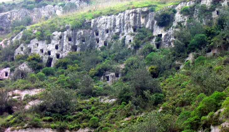 archäologischer Rundgang, Weltkulturerbe Sizilien Natur Pantalica