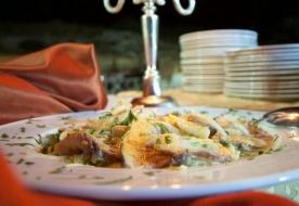 typisch sizilianische Gerichte - kulinarisches Event