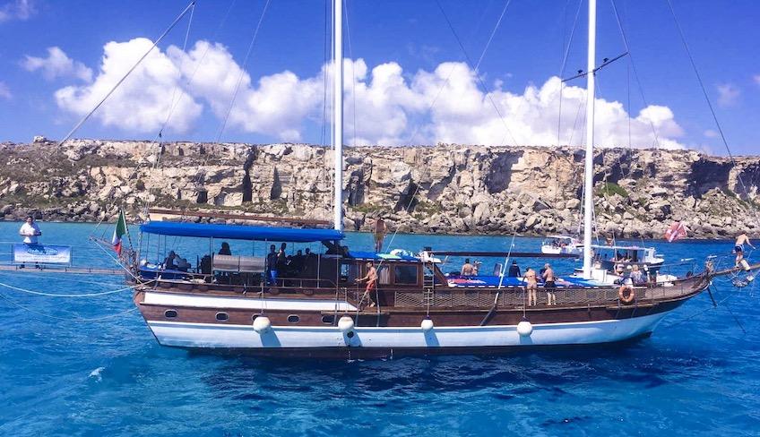 Ägadische Inseln Bootstrip