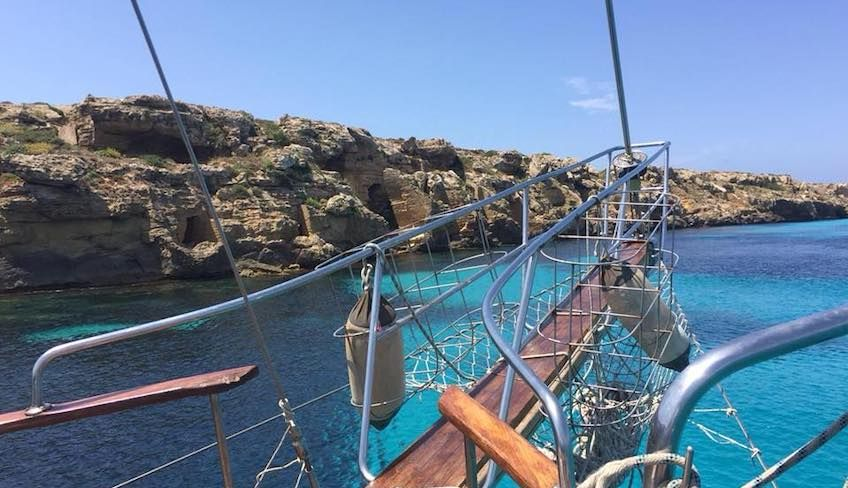 Schnorcheln Sizilien - Exkursion auf dem Meer