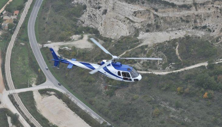 Helikopter Tour Sizilien - Sportschule Sizilien
