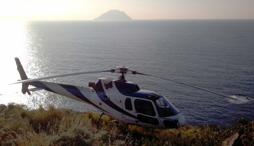 Helikopter Tour Sizilien - Sportschule Sizilien