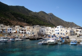 Fahrt zu den Ägadischen Inseln - Meer Siziliens
