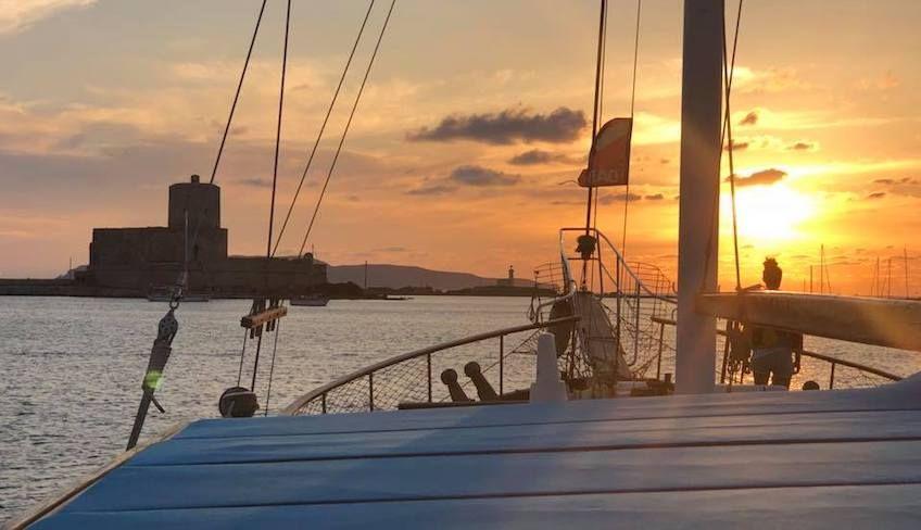 Fahrt zu den Ägadischen Inseln - Buche eine Yacht