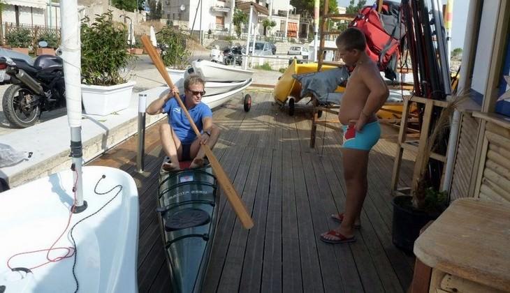 Kayakkurs Sizilien - Sportschule Sizilien