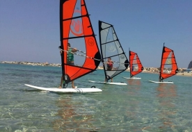 Sport & Adventure Holiday in Sizilien -Windsurfkurse Italien