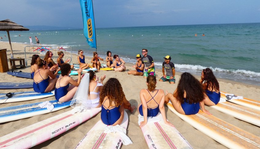 surf Sizilien Schule Verleih surf Urlaub Sizilien Catania