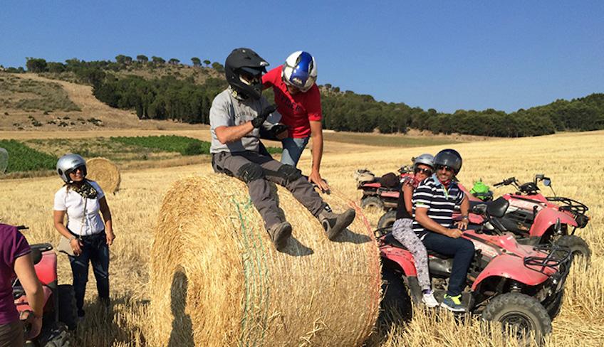 Sport & Abenetuer Urlaub in Sizilien - Besuche Segesta