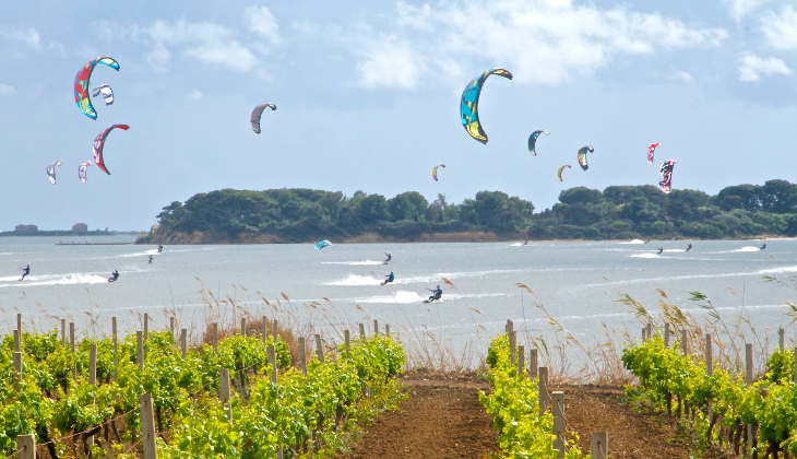 Kitesurf für Anfänger Kitesurfen lernen Kitesurf Training Sizilien