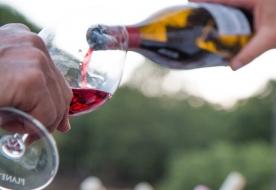 Weinverkostung - Mandelwein in Sizilien
