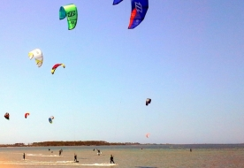 Kitesurf Verleih - komplette Kitesurf-Ausrüstung