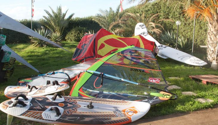 Windsurf Italien - Windsurfschule Sizilien