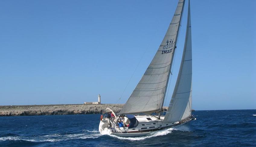 Segelunterricht Segeltrip Erlebnis mit dem Boot Syrakus