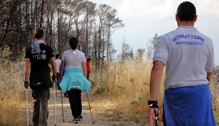 Nordic Walking Italien - Nordic Walking Technik
