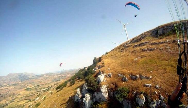Tandem Gleitschirmflug - Flüge nach Sizilien