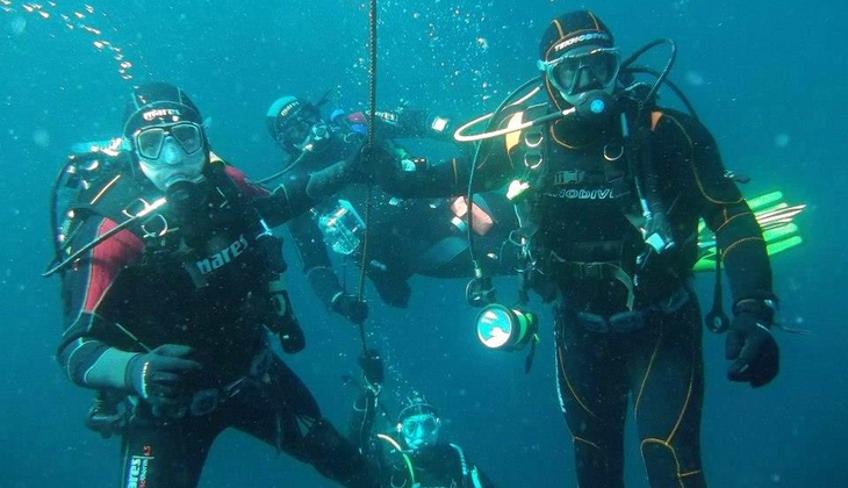 Marettimo Diving Center Sommer Aktivurlaub Scuba Diving Trip Marsala