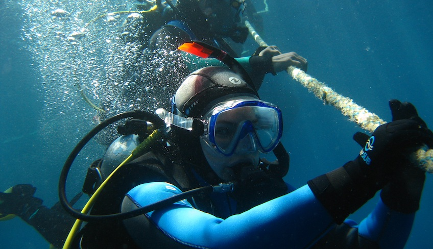 Open Water Diver Divemaster Lerne Scuba Diving Marsala