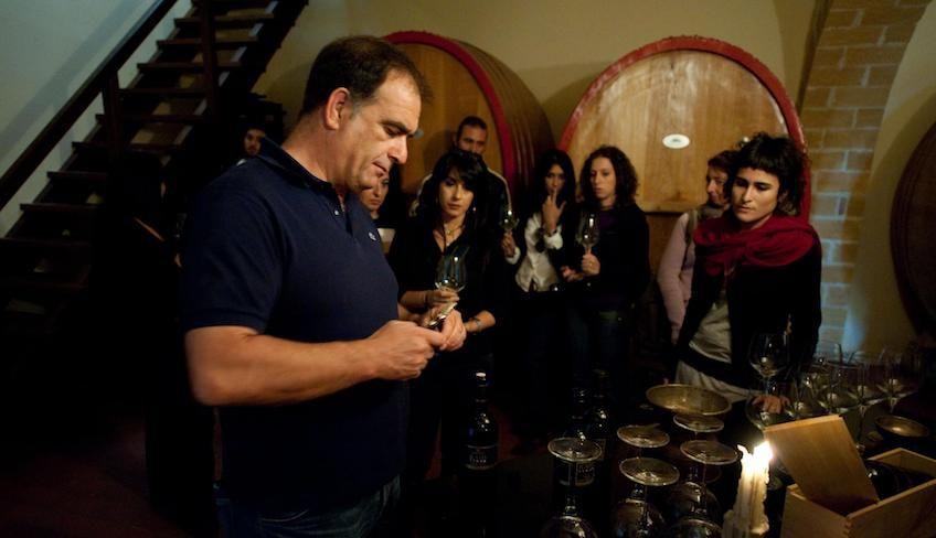 Weinverkostung Palermo -