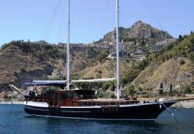 Urlaub auf einem Caicco Taormina besuchen Isola Bella besuchen Taormina