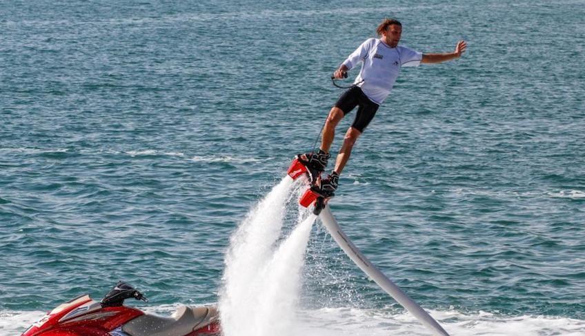 Flyboard in Italien - Extremwassersport