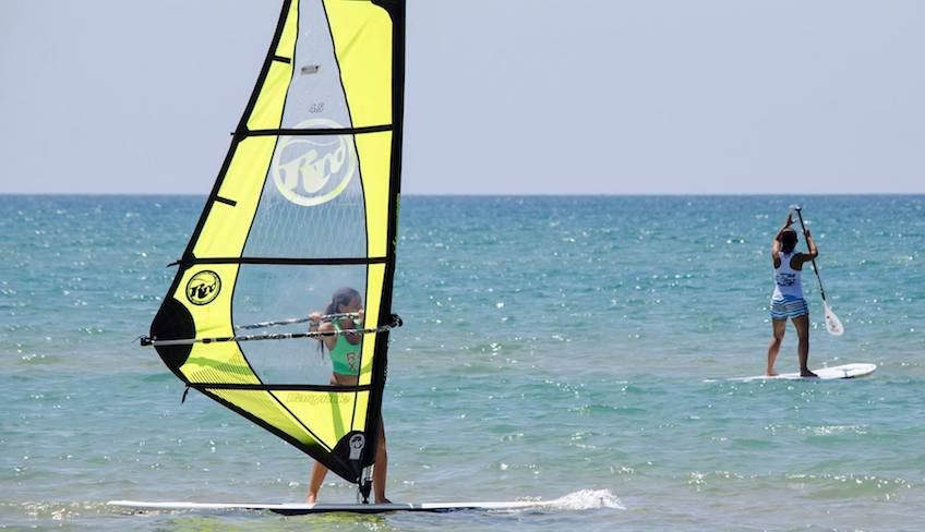 Windsurf Ragusa  - Wassersport