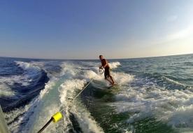 Sport & Abenteuer Urlaub in Sizilien - Wakeboard